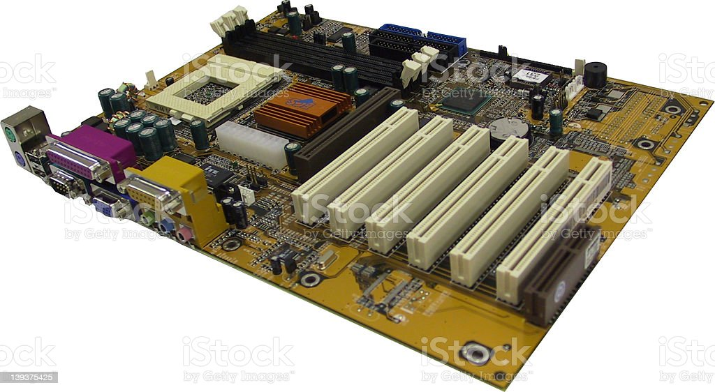 Motherboard, Mainboard royalty-free stock photo
