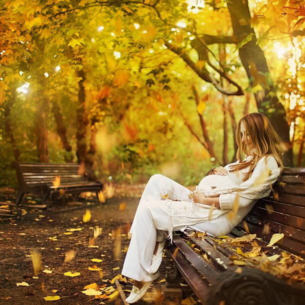 Motherhood beauty stock photo