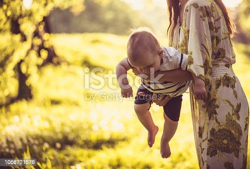 525959168 istock photo Motherhood has been amazing with this cute little one. 1058721576
