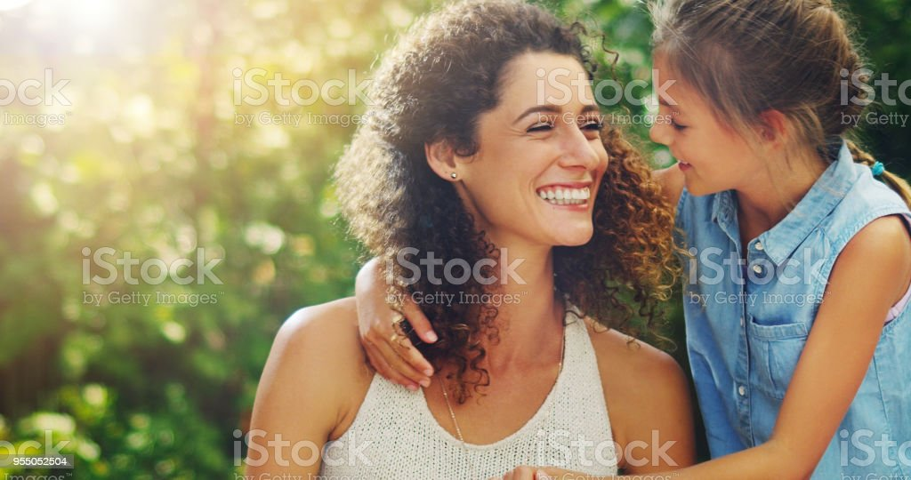 Motherhood, the most beautiful chapter of life stock photo