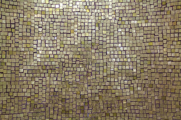 mother-of-pearl mosaic background - mother of pearl stock photos and pictures