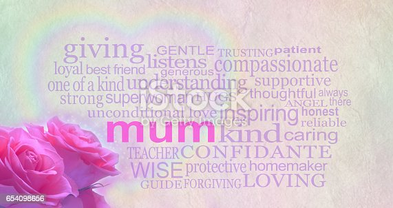 istock Mother's day background banner 654098656