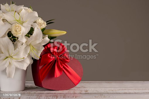 Flower, Chocolate, Heart Shape, Gift Box, Mother's Day