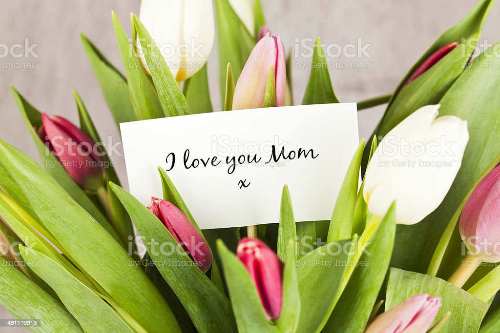 Mother's Day Bouquet stock photo