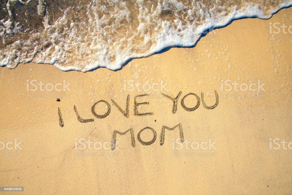 Muttertagsfeier am Strand – Foto