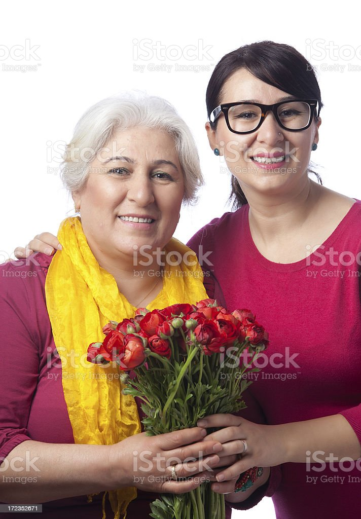 Mother's day celebration royalty-free stock photo