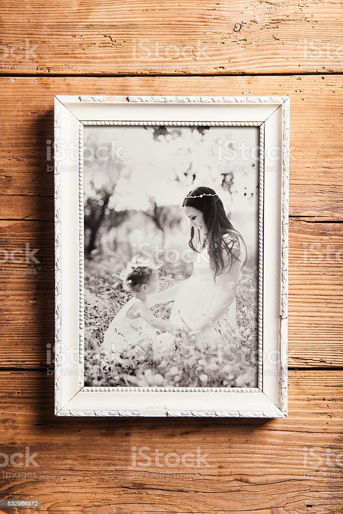 Royalty Free Mother Daughter Picture Frame Pictures Images And