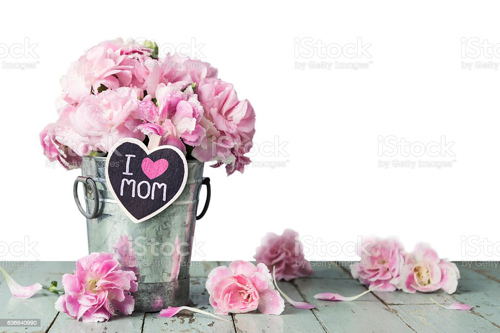 Mothers day concept stock photo