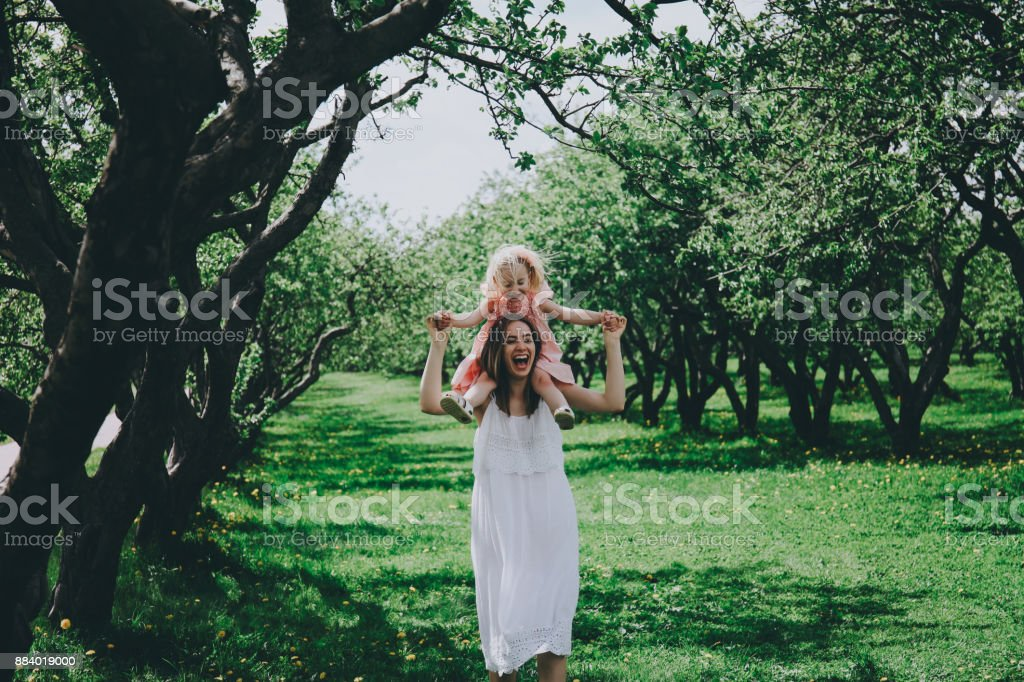 Mother's day concept. stock photo