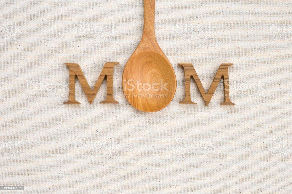 Muttertag-Design-Konzept Lizenzfreies stock-foto