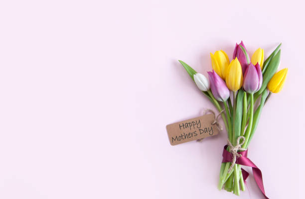 mothers day flowers - mothers day stock pictures, royalty-free photos & images