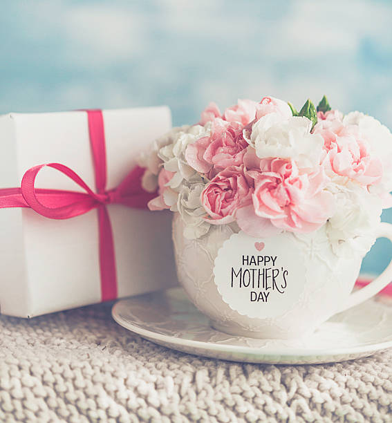 Mothers day gift and cup filled with fresh carnation bouquet picture id525019804?b=1&k=6&m=525019804&s=612x612&w=0&h=md2fercqdqivvljdrjdii80cl9hcwsnytjt3lymmswy=