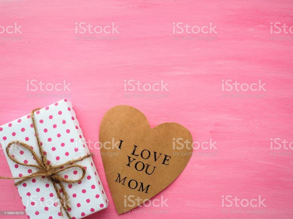 Día De La Madre Caja De Regalo Con Mensaje Te Quiero A Mamá