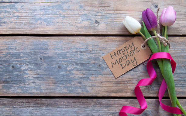 mothers day gift flowers - mothers day stock photos and pictures