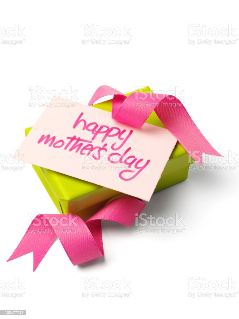 Mother's day Gift royalty-free stock photo