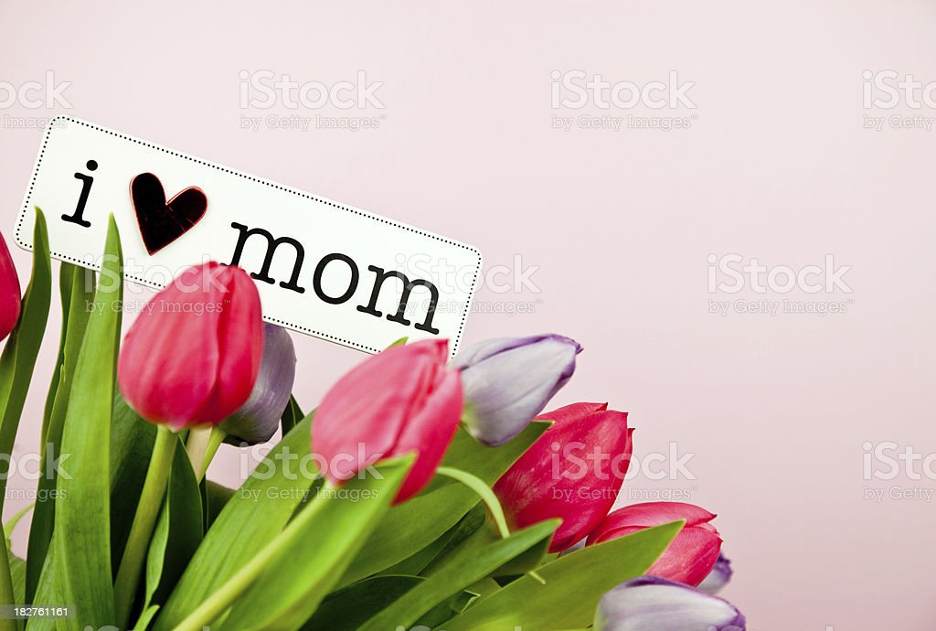 Mother's Day Message royalty-free stock photo