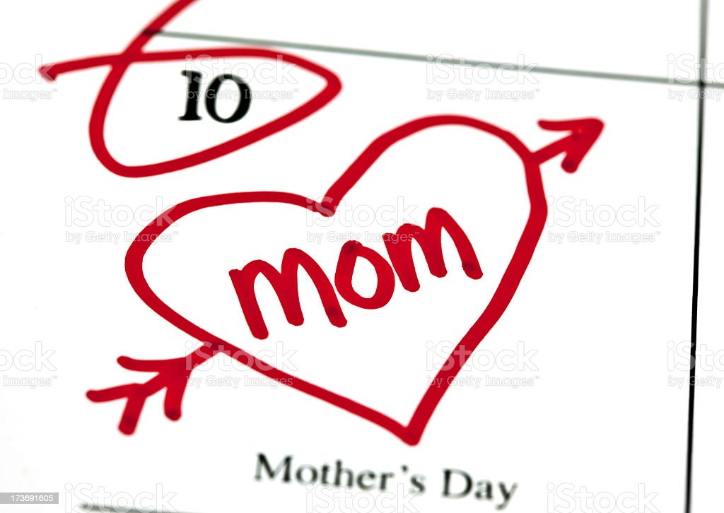 Mother's Day royalty-free stock photo