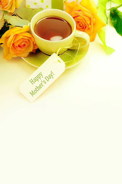 mother's day. - muttertagsbrunch stock-fotos und bilder