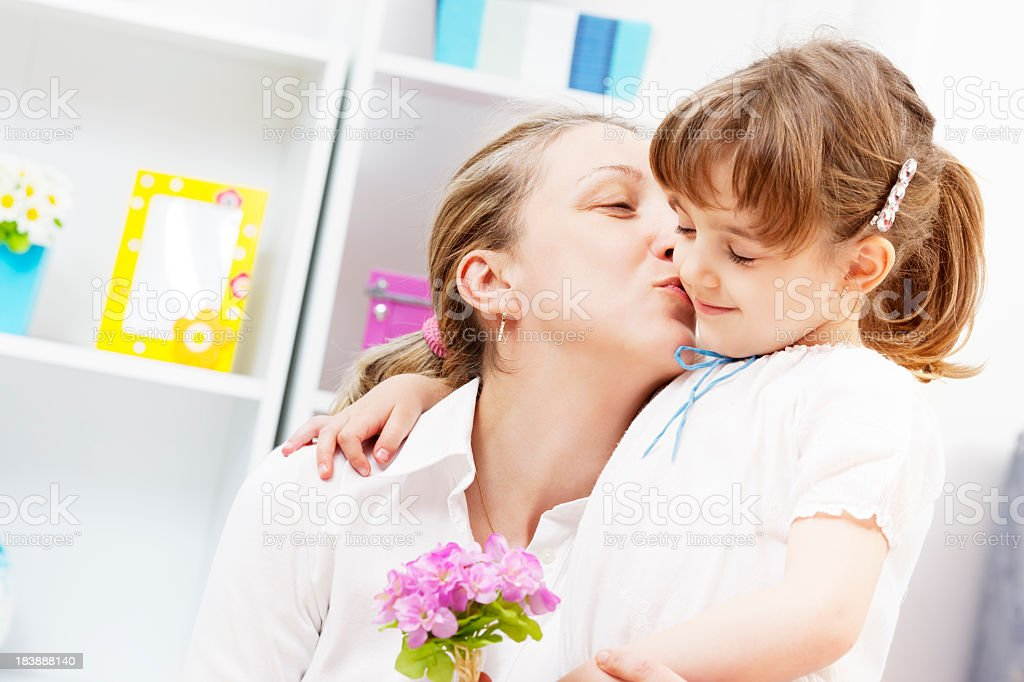 Mothers Day Portrait royalty-free stock photo