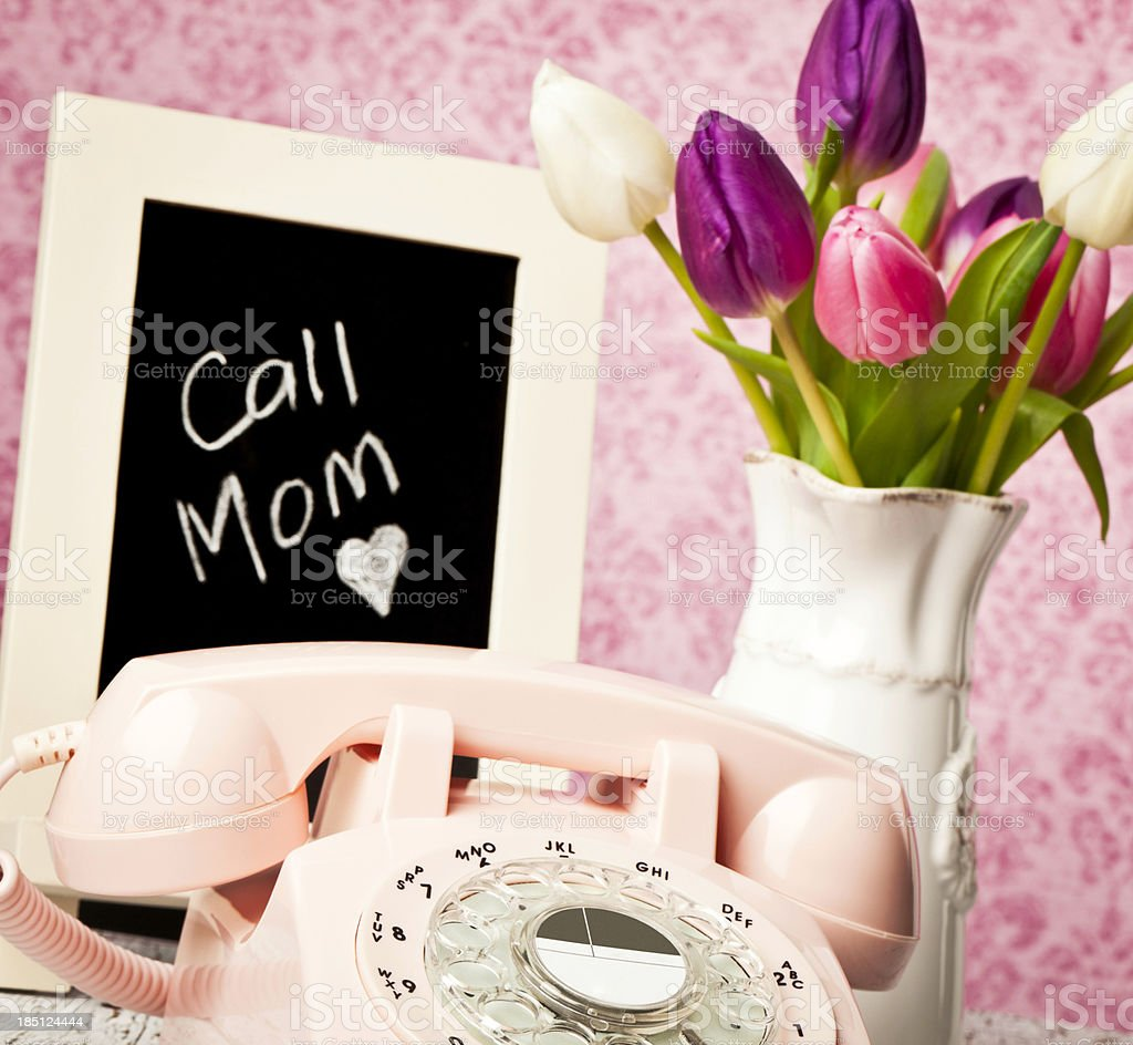 Mother's Day Reminder stock photo