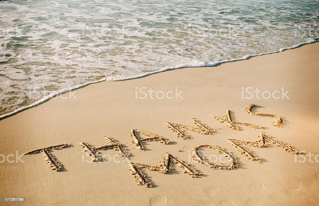 Mothers Day Written in the Sand royalty-free stock photo