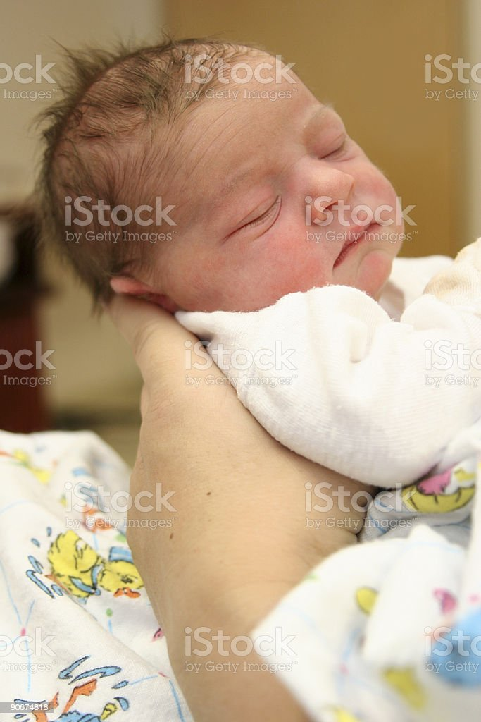 Mothers Hands royalty-free stock photo