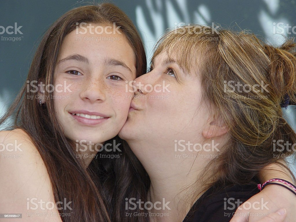 Mother's love - Royalty-free Adolescence Stock Photo