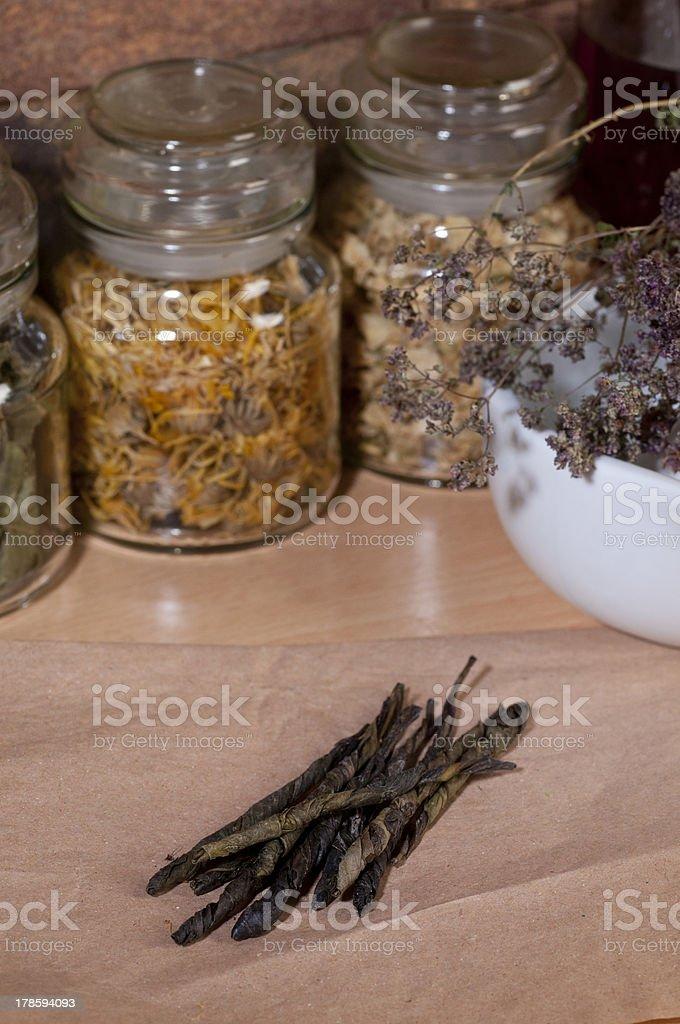 motherwort royalty-free stock photo