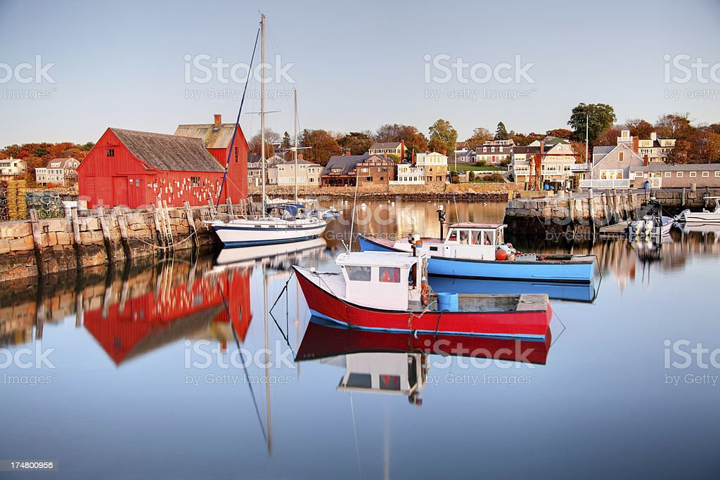 Motif No. 1 in Rockport stock photo