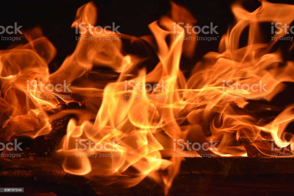 motion and movement of flame raged stock photo