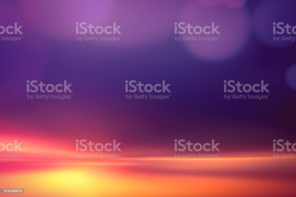 Motion Blur Abstract Background Blue Red Yellow with Bokeh stock photo