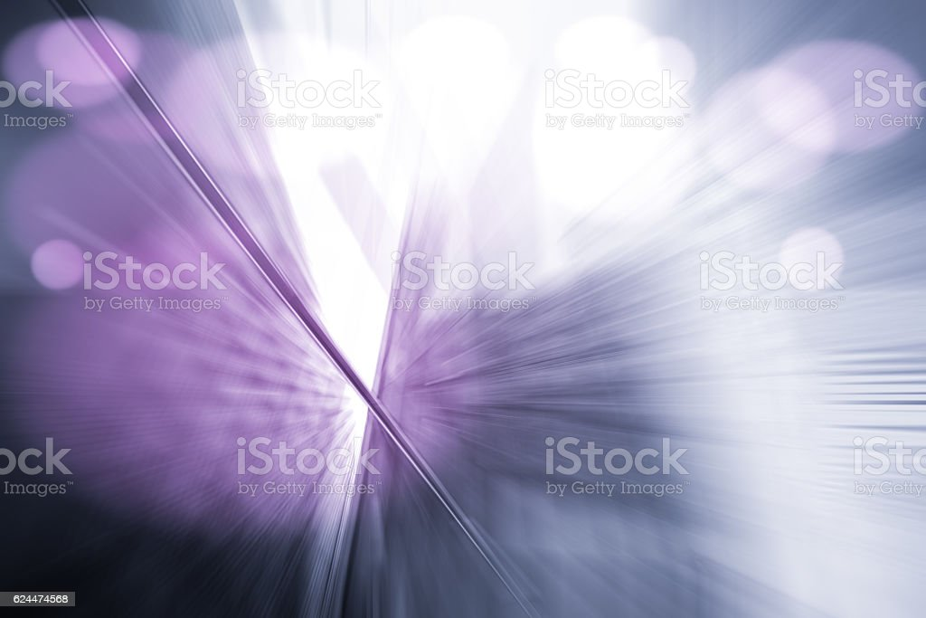 Motion Blur Abstract Background Purple with Bokeh stock photo