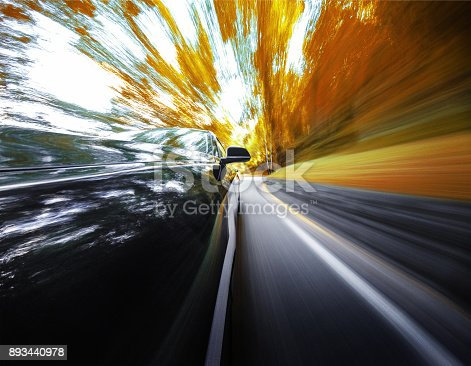 688980174istockphoto motion blur car on the road 893440978