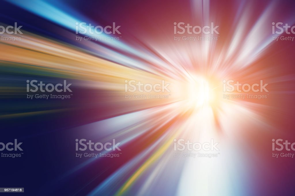 motion blur for fast speed business perform to way out concept abstract for background. stock photo