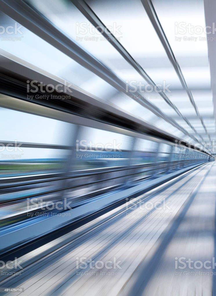 Motion blur stock photo