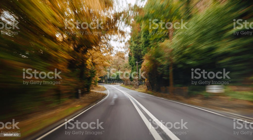 Motion blur stock photo