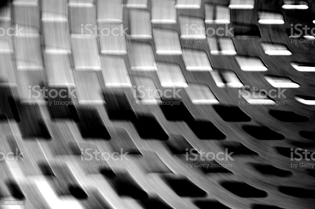 Movimento borrado futurista abstrato ou papel de parede. - Foto de stock de Abstrato royalty-free
