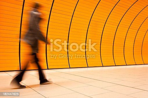 istock Motion Blurred People 182447625