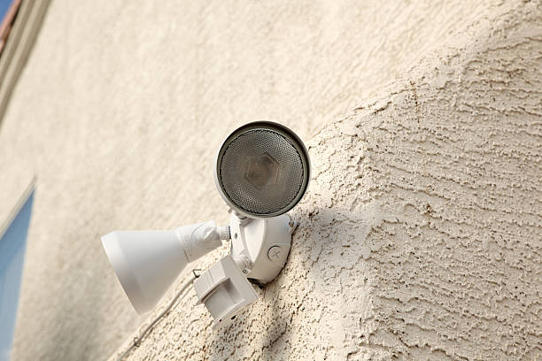 Motion detector light shot of motion detector light sensor stock pictures, royalty-free photos & images