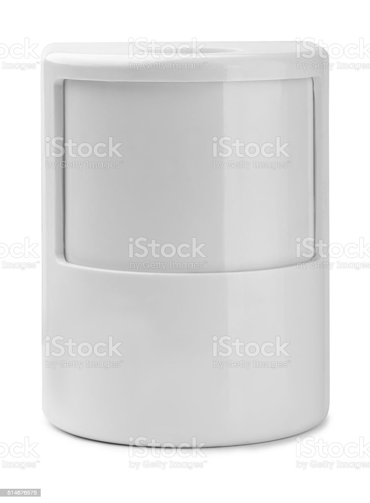 Motion detector stock photo