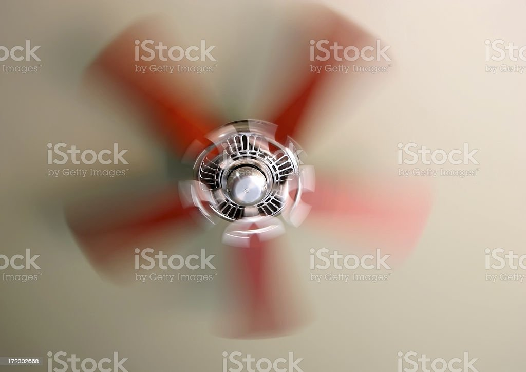 Motion Of A Fan royalty-free stock photo