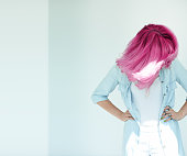 istock Motion Shot Of Dyed Hair 530832658