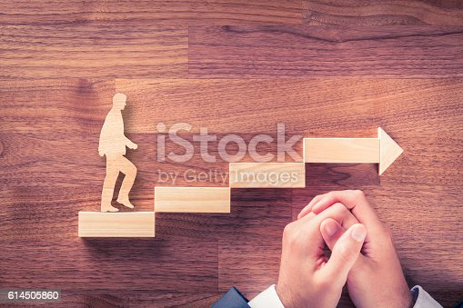 istock Motivation and personal development career 614505860