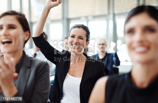 112156285 istock photo Motivation goes a long way towards making it happen 1141462776