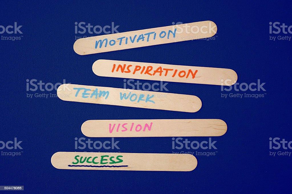 Foto De Motivação Inspiração Visão De Trabalho Em Equipe