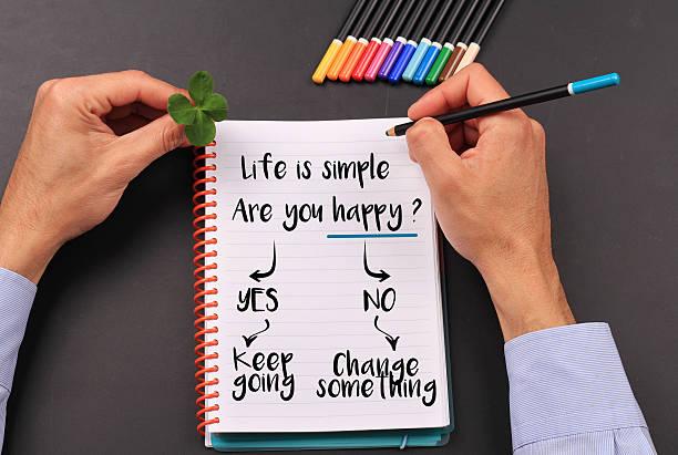 motivation worte das leben ist einfach. inspirierende zitat. - das leben genießen zitate stock-fotos und bilder