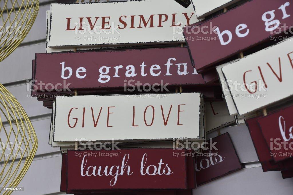 Sinais motivacionais - Foto de stock de Aspiração royalty-free