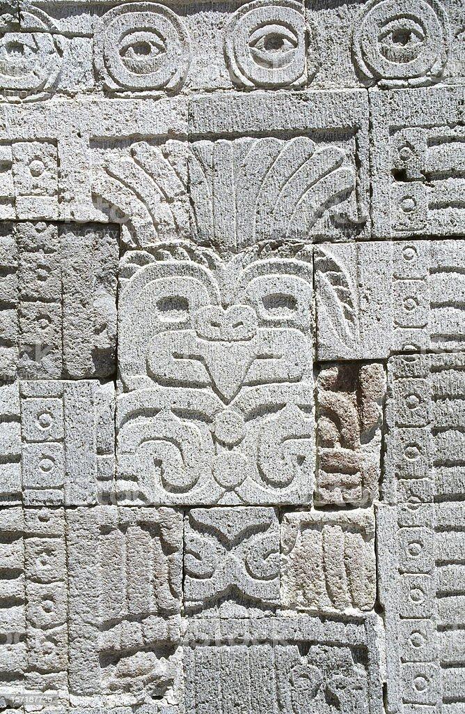 Motive in Teotihuacan (3) stock photo