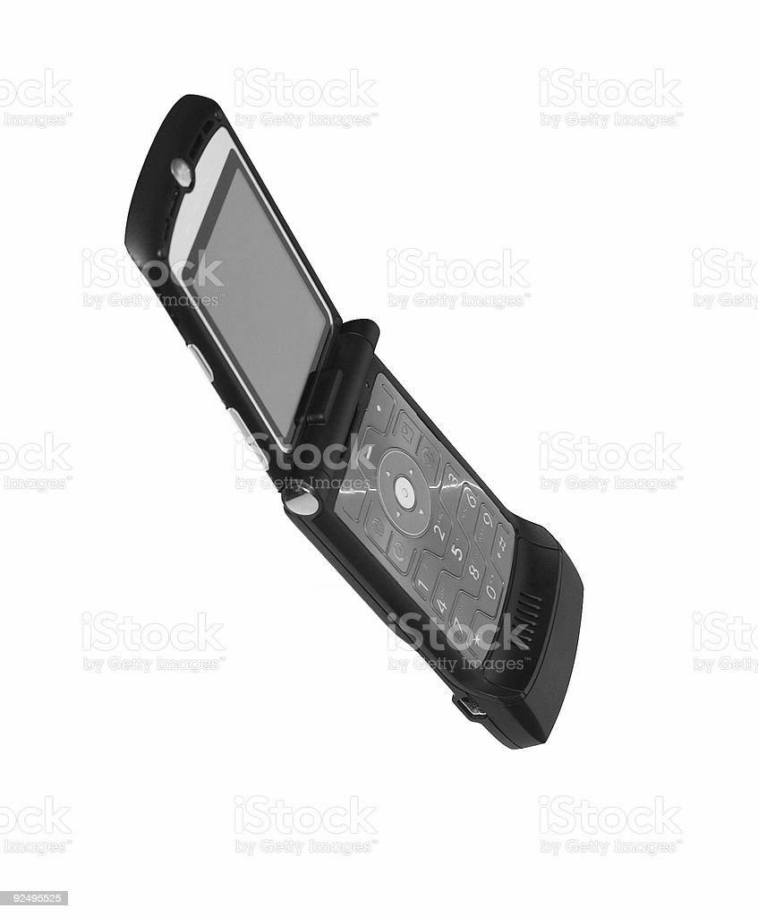 moto cellphone 2 royalty-free stock photo