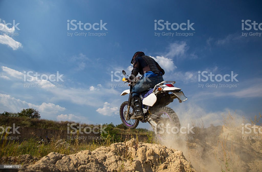 Motocross bike. stock photo